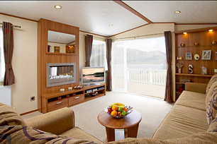 One of our four-star caravans.
