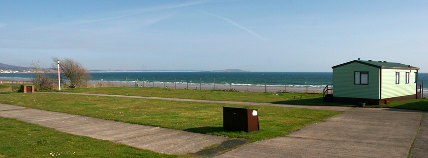 Leven Beach campsite and touring caravan area