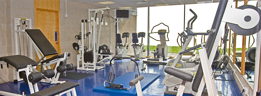 Our fitness suite
