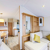 Take a virtual tour of our 5-star caravan